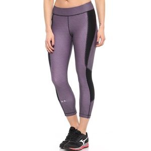 Under Armour Compression Crop Leggings NWT